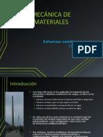 Pp 15 - Esfuerzos Combinados - Mecánica de Materiales