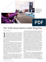 Truth about Martin Luther King Day
