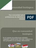 La Comunidad Biológa