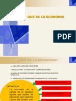QUE ES LA ECONOMÍA (Microeconomía)
