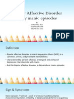 Skill-Bipolar Affective Disorder Manic Episode