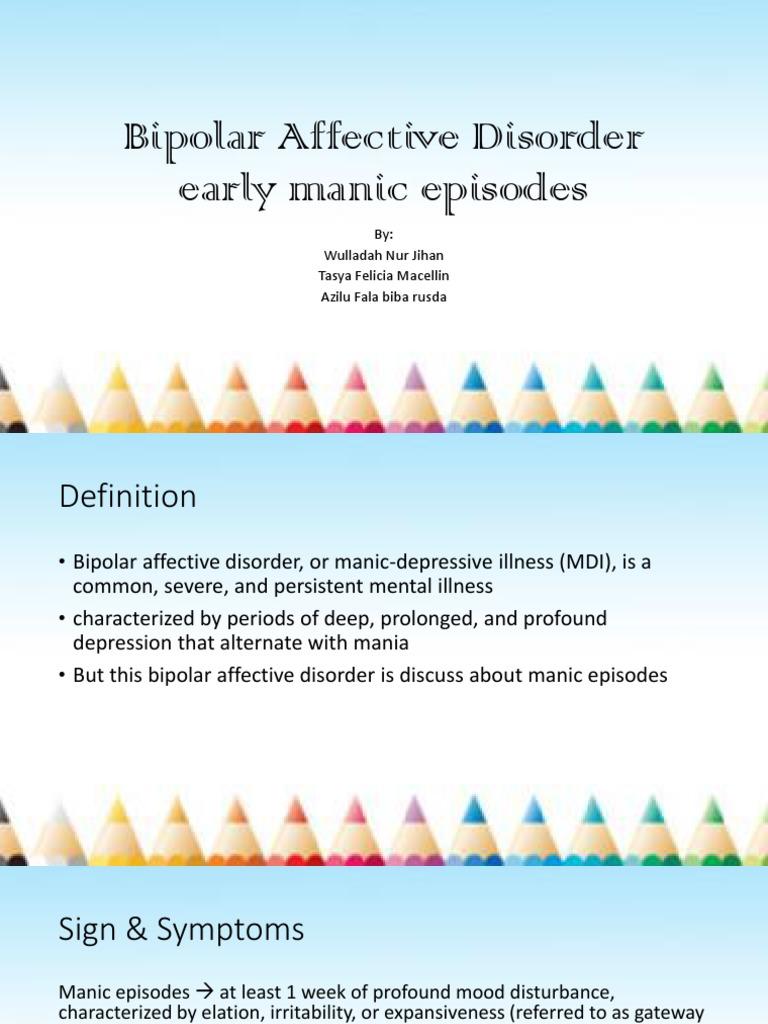 skill-bipolar affective disorder manic episode | mania | bipolar