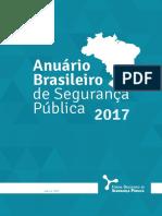 ANUÁRIO DA SEGURANÇA PÚBLICA - 2017