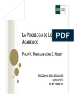 PS. Educación. ARTÍCULO. LA PSICOLOGÍA DEL LOGRO ACADÉMICO - copia.pdf