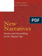 (Frontiers of Narrative) Thomas, Bronwen_ Page, Ruth E-New Narratives _ Stories and Storytelling in the Digital Age-University of Nebraska Press (2011)