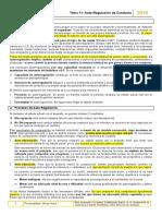 Tema 11 _ Autoregulación de Conducta