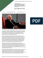 PF Sugere Em Relatório Quebrar Sigilos de Temer - Política - Política