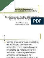 UCS Reorientação Modelo Assistencial