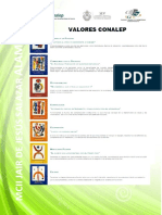 4.- Valores Conalep 2.17.18