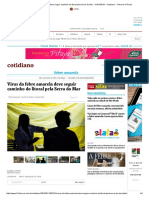 Vírus Da Febre Amarela Deve Seguir Caminho Do Litoral Pela Serra Do Mar - 31-01-2018 - Cotidiano - Folha de S.paulo