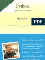 Apresentacao Python