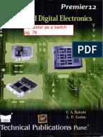 Analog & Digital Electronics - Bakshi, Godse - ELE 112, ELE 314, ELE 324