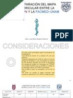 Comparación de mapa curricular (Planes de estudio) entre ESM ~ IPN y FACMED ~ UNAM