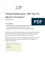 MEXICO - 16.4.29 - GALLUP - Fixing Mexicos Economy