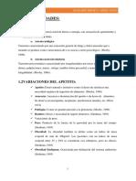 Vocabulario Semiología