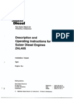 ZAL 40S Description and Operating Instruction