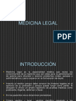 Historia y Conceptos Medicina Forense