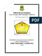 Program Kerja Tu (Cover)