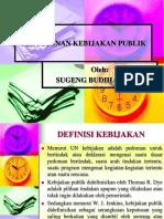 Analisis Kebijakan Pembangunan Berkelanjutan