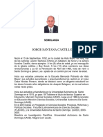 Semblanza Jorge Santana Castillo