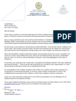 Councilwoman Chin's Letter to 85 Bowery Landlord