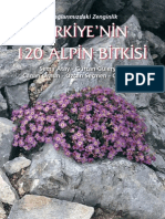 Türkiye'nin 120 Alpin Bitkisi - 120 Alpin Plants of Turkey
