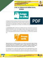 Beneficios Lengua de Señas en El Sordo