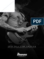 2018 Ibanez Fullline Catalog Consumer
