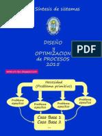 diseño y optimizacion