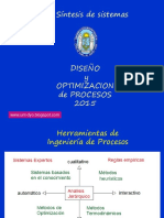 diseño y optimizacion 2clase