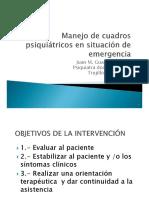 Emergencias Psiquiátricas