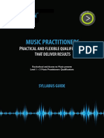 Music Practitioners Syllabus 2010-2013