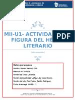 MII-U1- Actividad 2. La Figura Del Héroe Literario