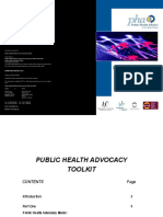 Public Health Advocacy Toolkit 07