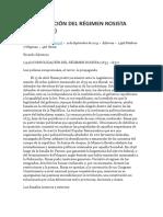 Consolidación Del Régimen Rosista