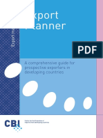 L7. Export Planner a Comprehensive Guide for Prospective Exporters in Developing