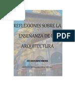 Enseñanza de La Arq. Reflexion2
