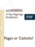 Pagan Catholic Disposition