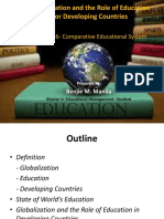 Comparative Education- Role of Education Globalization
