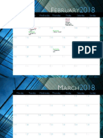 spring 2018 calendar uc february