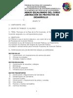 Trabajo 1- Ing. de Proyectos