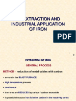 5.4 Extraction and Industrial Applications of Iron (1)