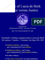 Science vs Justice