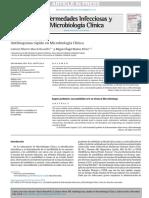 Antibiograma Rapido en Microbiologia Clinica