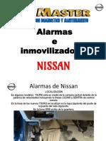 Alarma e Inmovilizador Nissan