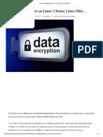 Encriptacion en Linux