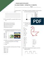Evaluacion informatica 3ro