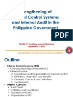 Strengthening Internal Control