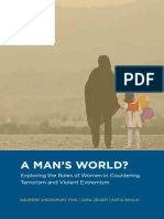 A MAN'S WORLD? Exploring the Roles of Women in Countering Terrorism and Violent Extremism