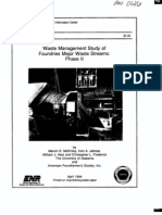 Waste Management Study of Foundries